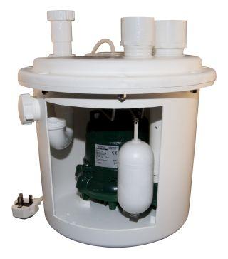 Under Sink Sump Pump Kit
